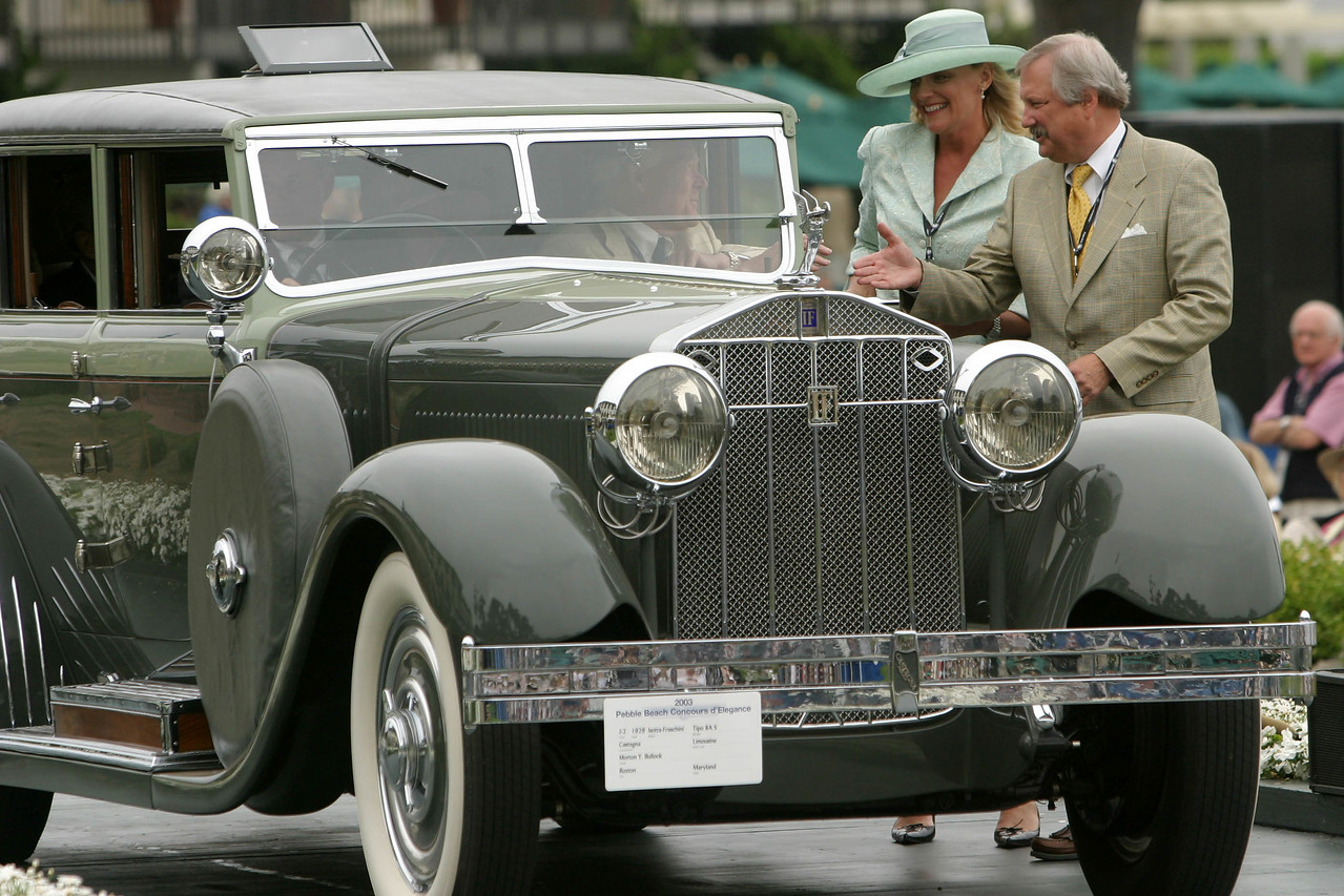 1929 Isotta-Fraschini Tipo 8A S Castagna Limousine