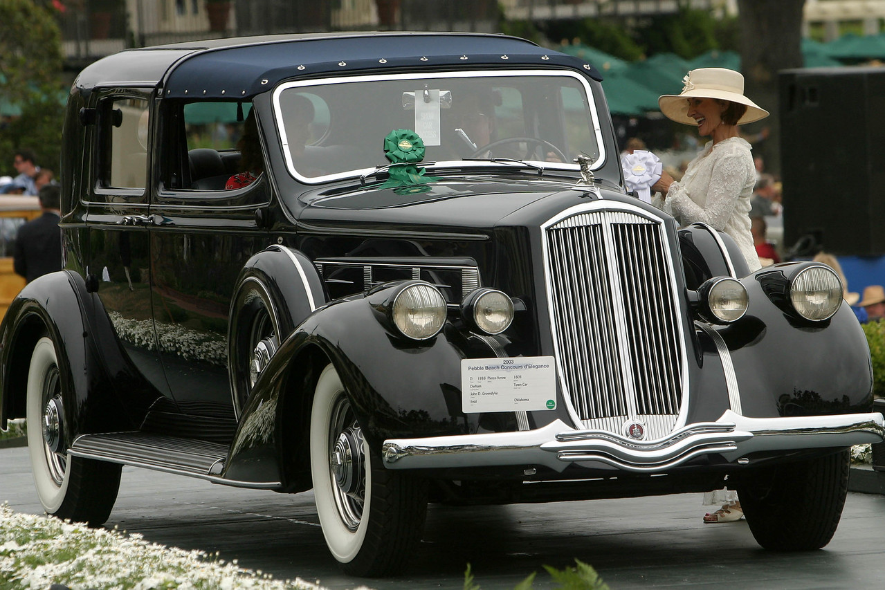 1936 Pierce-Arrow 1603 Derham Town Car