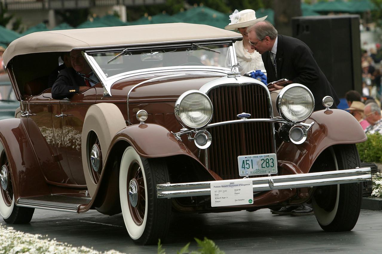 1932 Lincoln Model KB Brunn Phaeton