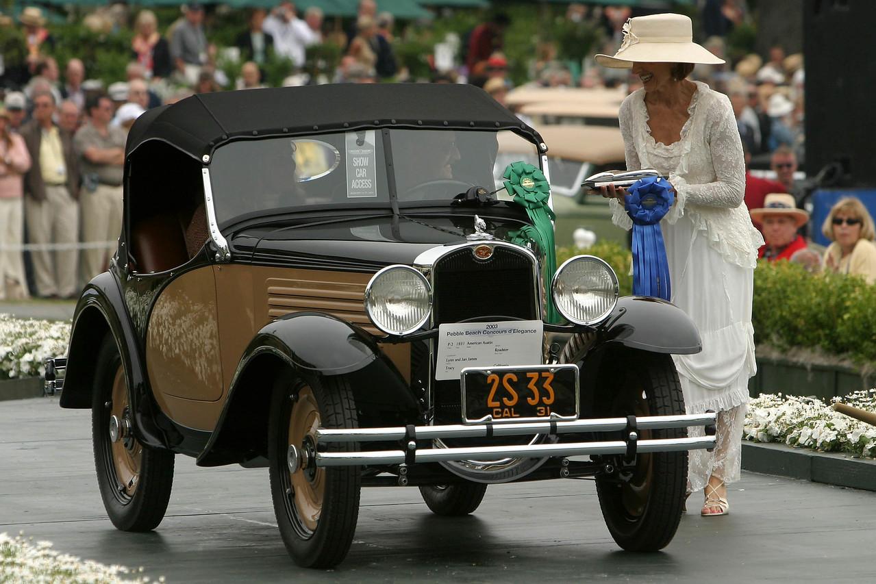 1931 American  Austin Roadster