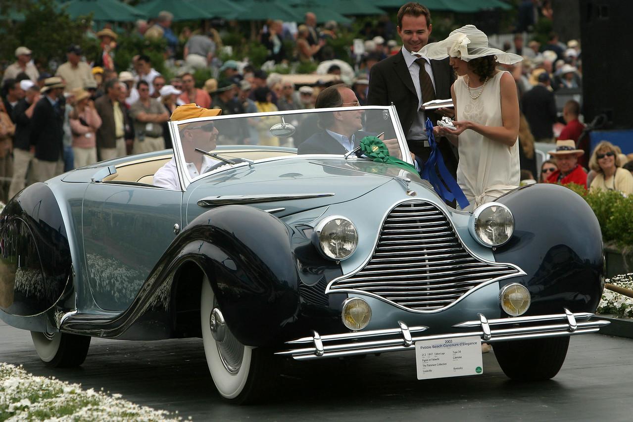 1947 Talbot-Lago Type 26 Figoni et Falaschi Cabriolet
