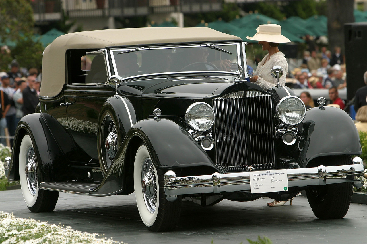1934 Packard 1107 Convertible Victoria