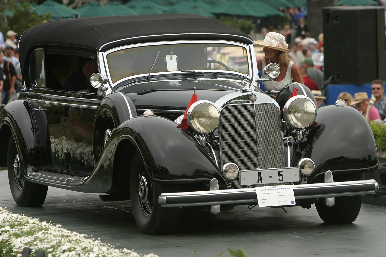 1940 Mercedes-Benz 770 Tourenwagen