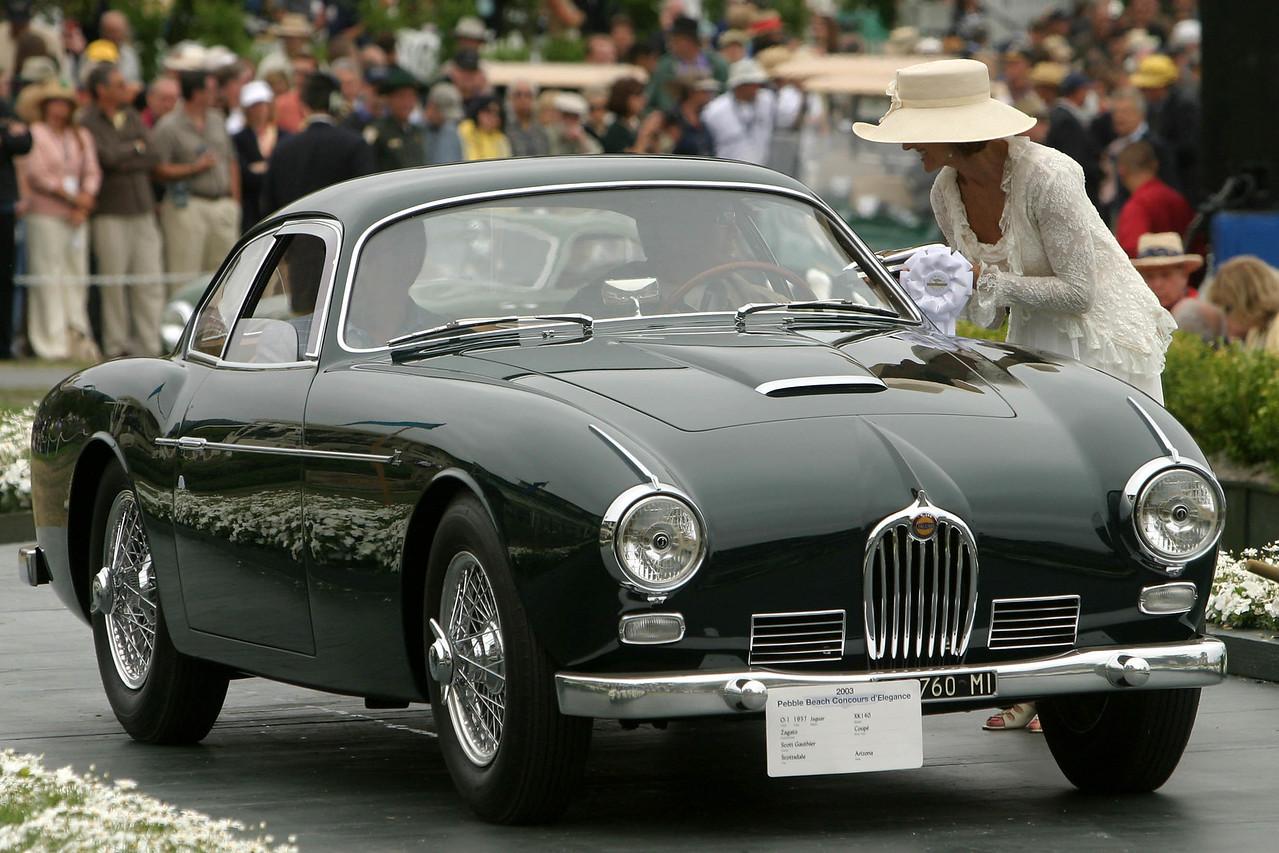 1957 Jaguar XK140 Zagato Coupe