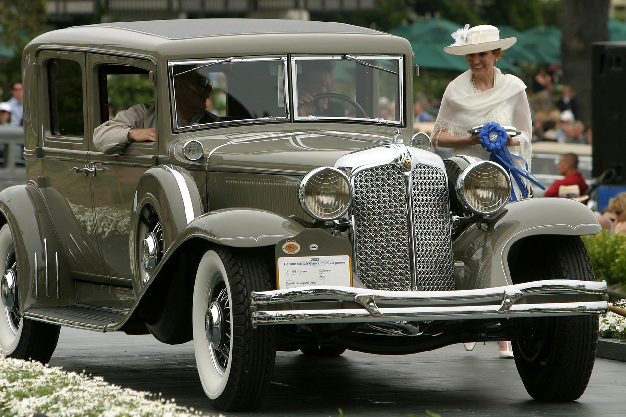 1931 Chrysler CG Imperial Sedan