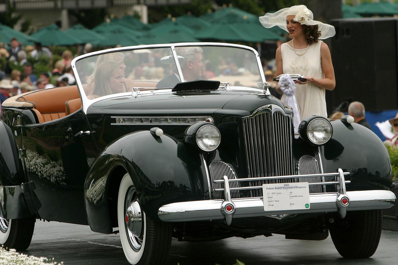 1940 Packard 160 Rollson Convertible Victoria