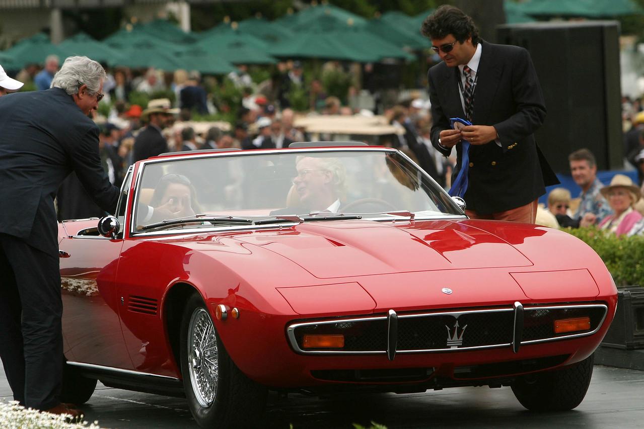 1972 Maserati Ghibli SS Ghia Spyder