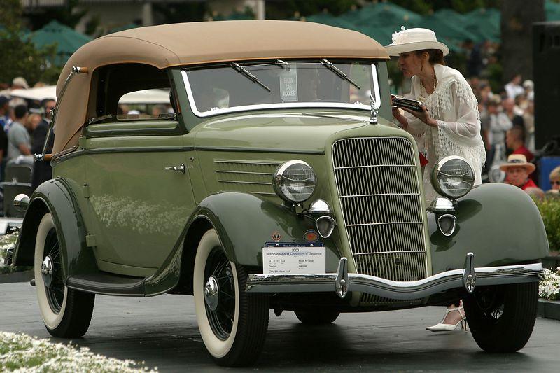 1934 Ford Model 40 Luxus Deutsch Cabriolet