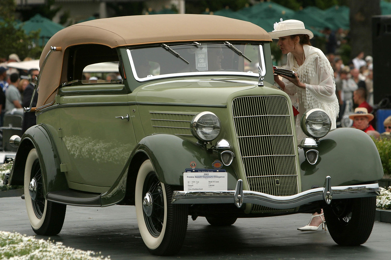 1934 Ford Model 40 Luxus Deutsch Cabriolet