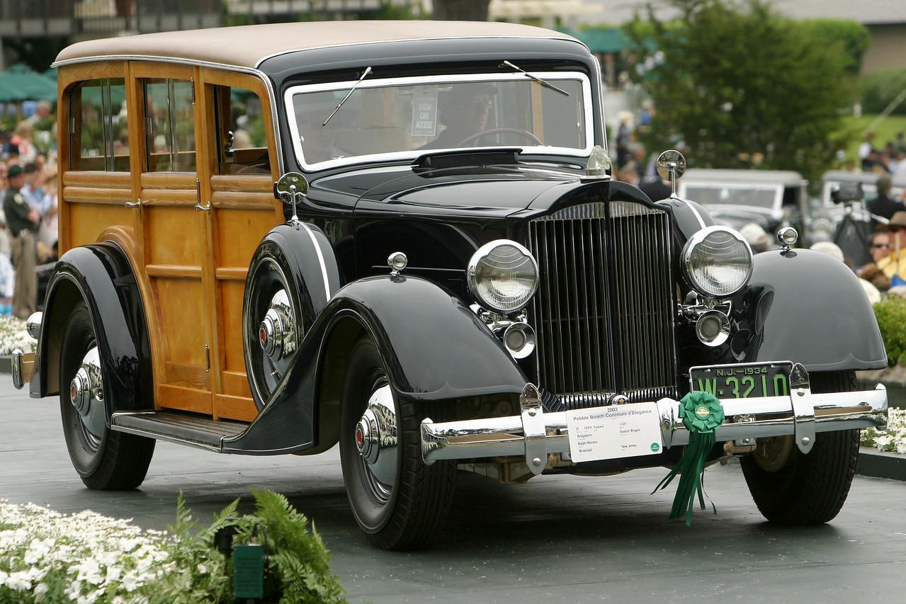 1934 Packard 1101 Bridgeport Station Wagon