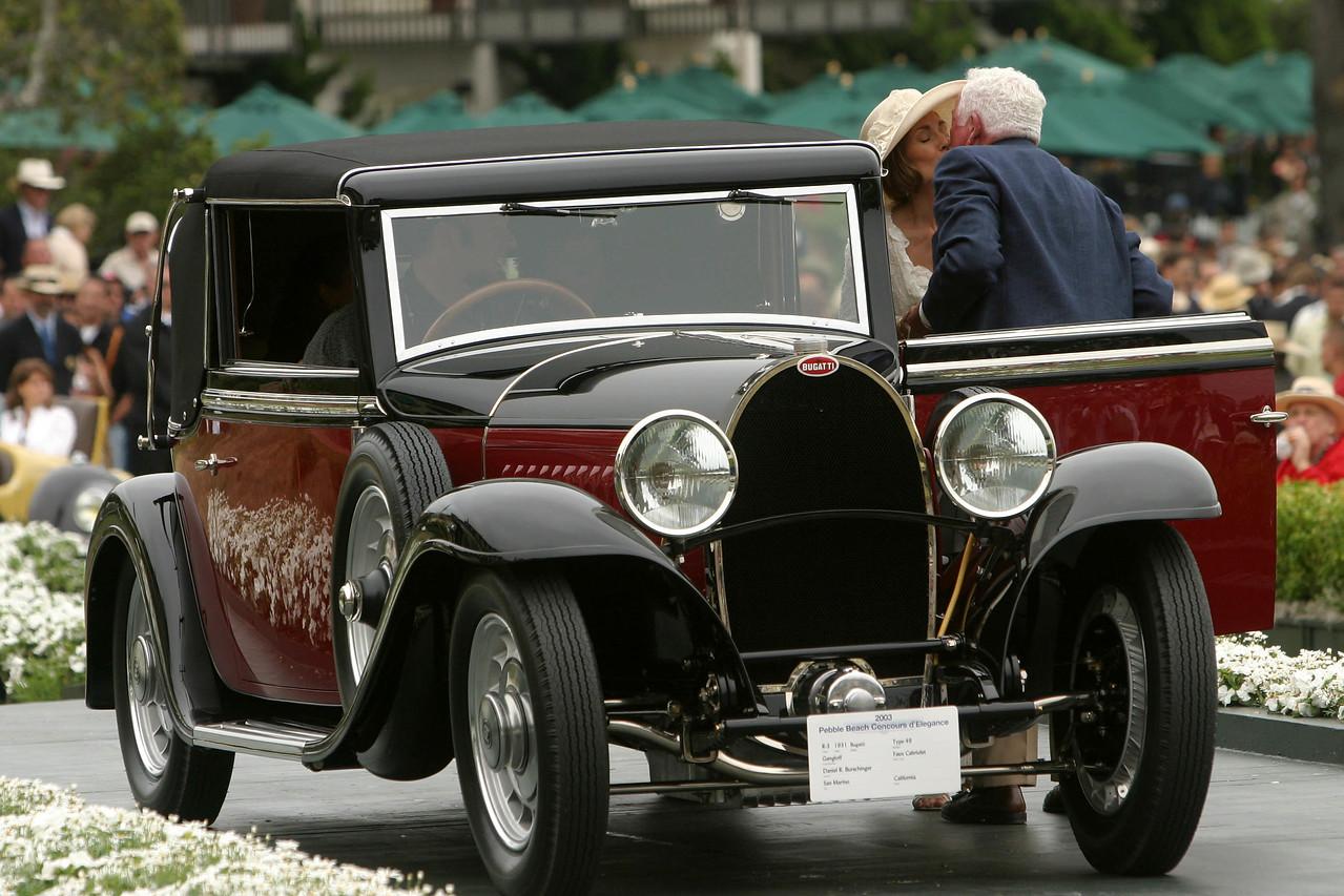 1931 Bugatti Type 49 Gangloff Faux Cabriolet