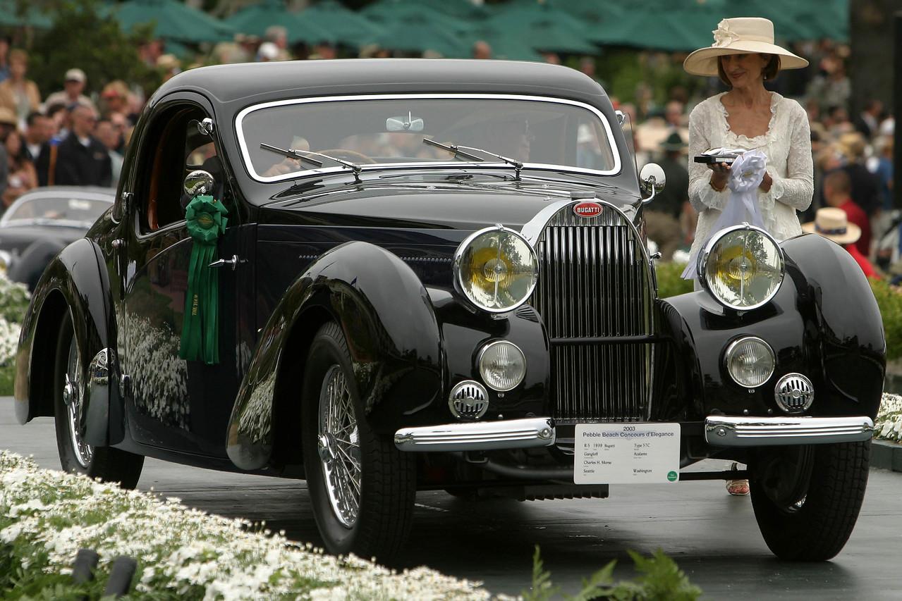 1939 Bugatti Type 57C Gangloff Atalante