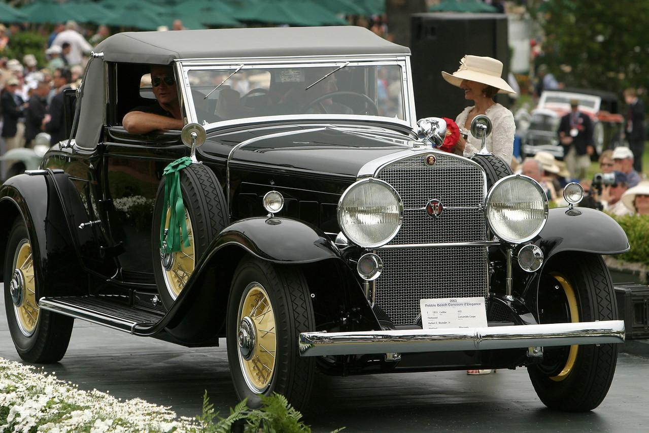 1931 Cadillac 452 Fleetwood Convertible Coupe