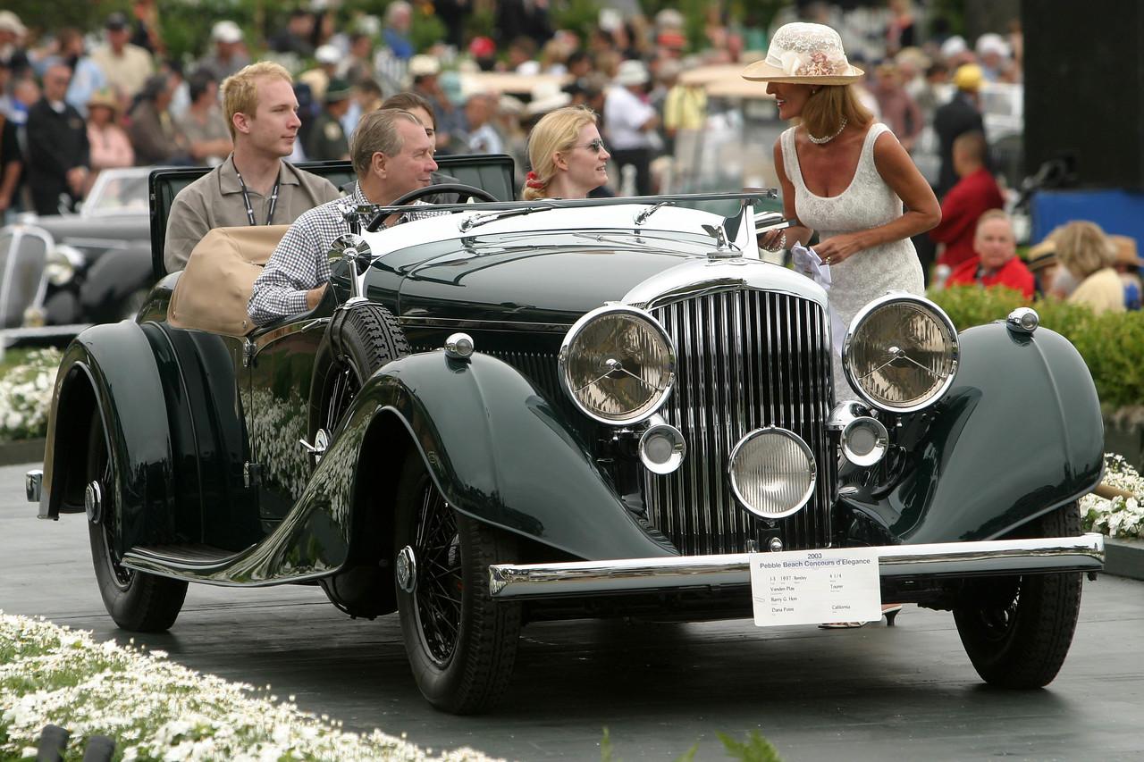 1937 Bentley 4 1/4 Vanden Plas Tourer