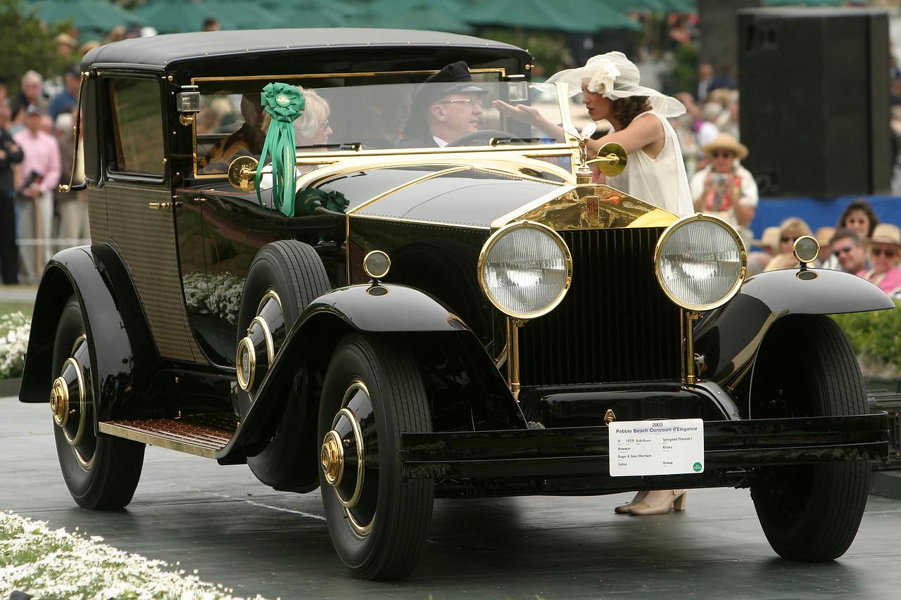 1929 Rolls-Royce Springfield Phantom I Brewster Riviera