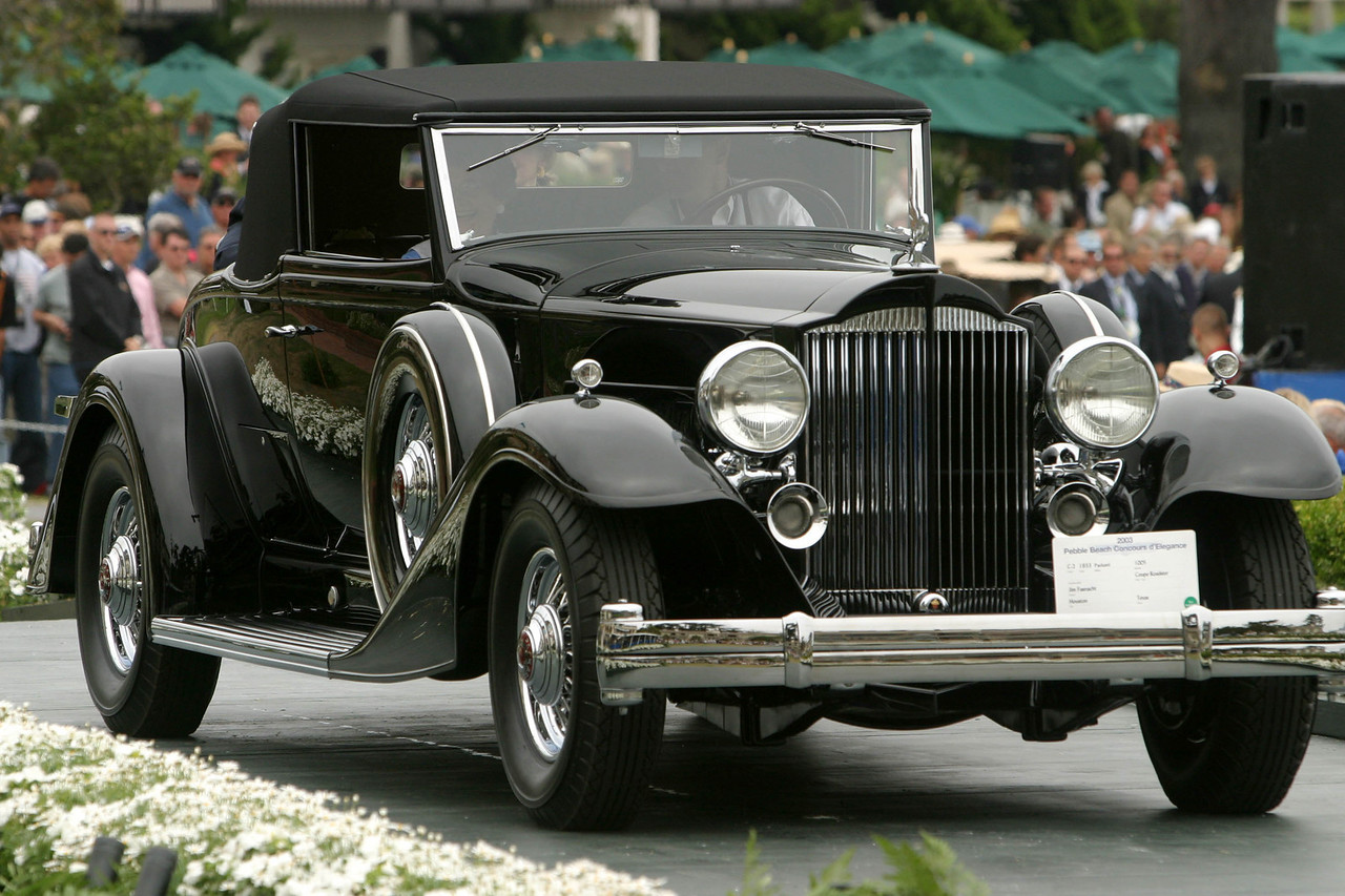 1933 Packard 1005 Coupe Roadster