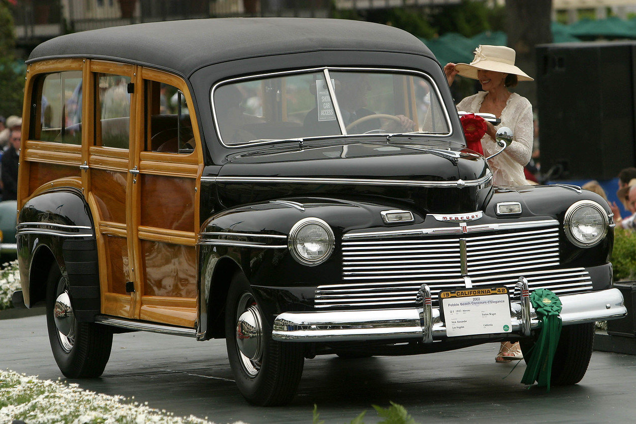 1942 Mercury Station Wagon