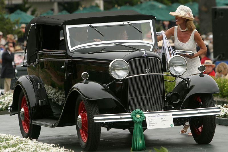 1932 Ford Model 18 Carlton Convertible Victoria