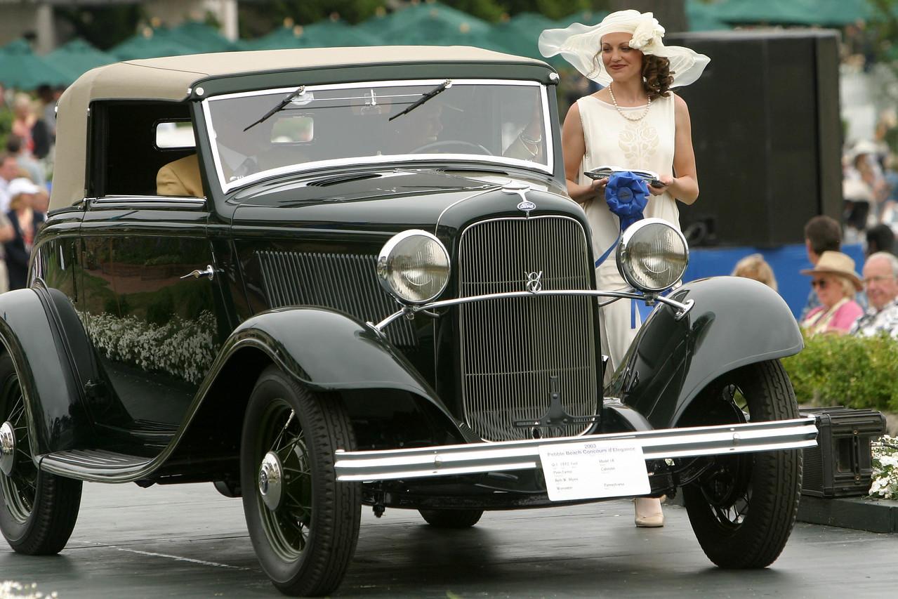 1932 Ford Model 18 Pinin Farina Cabriolet