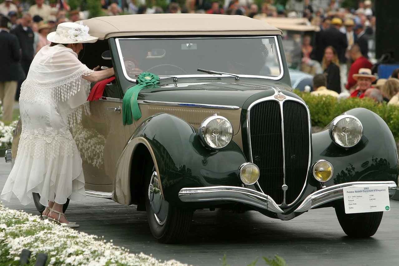 1948 Delahaye 135 M Pennock Cabriolet