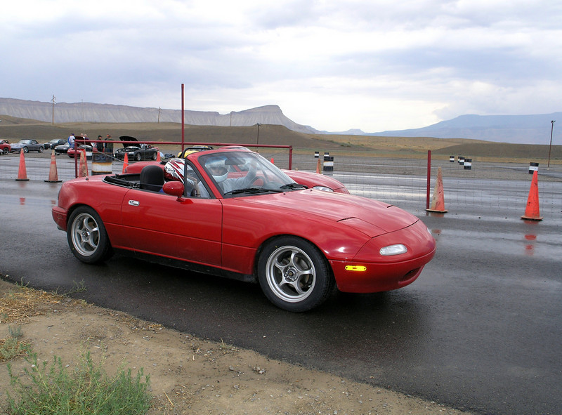 Track event.  Shot of my car, this will be the first time I have ventured on the track with it.  I was a little nervous!