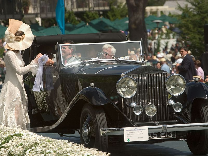 1933 Rolls-Royce Phantom II Continental Gurney Nutting Sedanca Coupe.  3rd RR Phantom I, II & III.   John Rich.