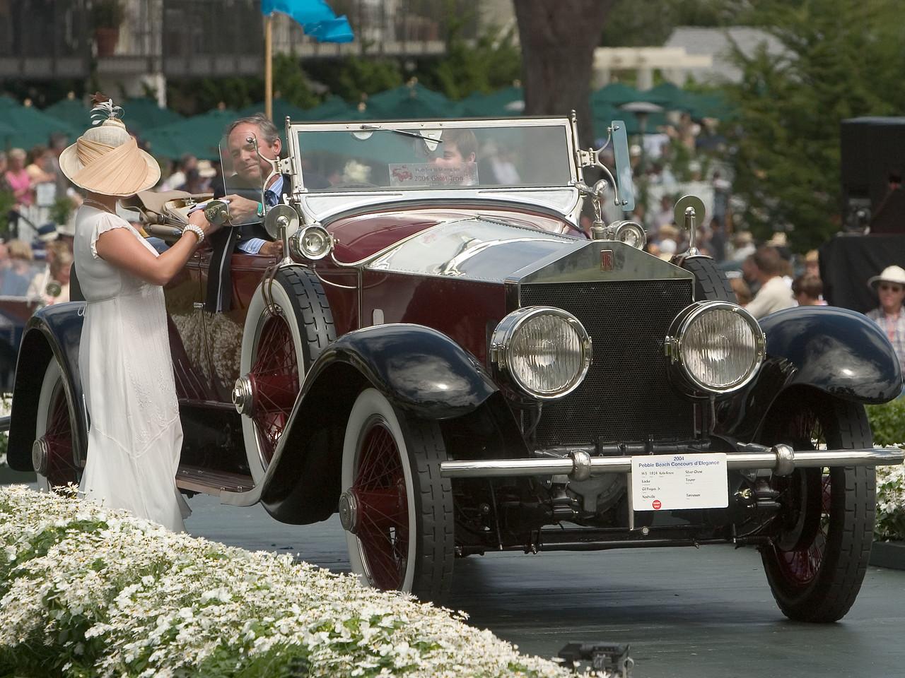 1924 Rolls Royce Silver Ghost.
