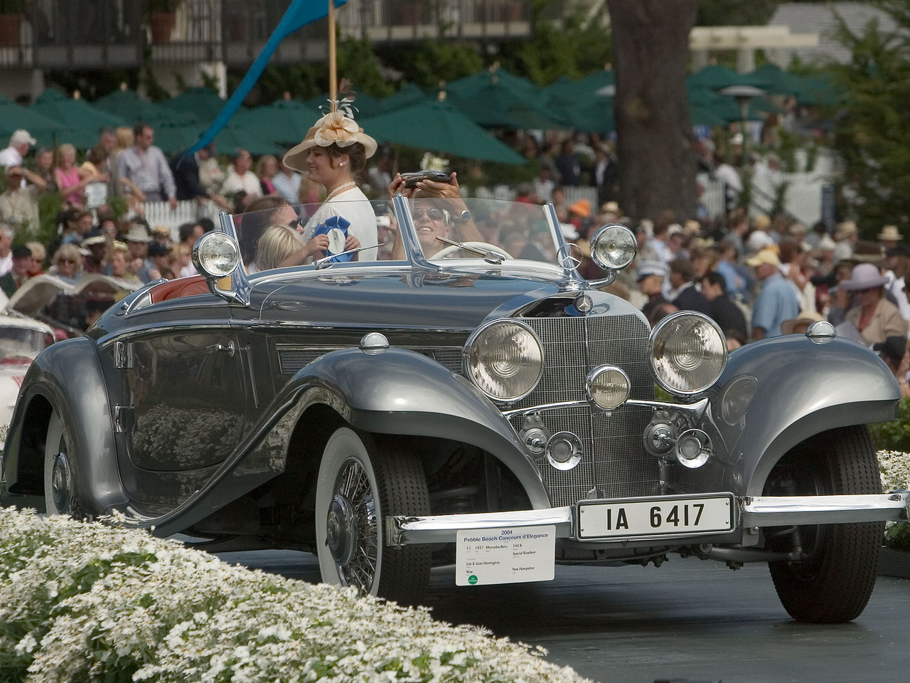 1937 Mercedes-Benz 540 K Special Roadster.