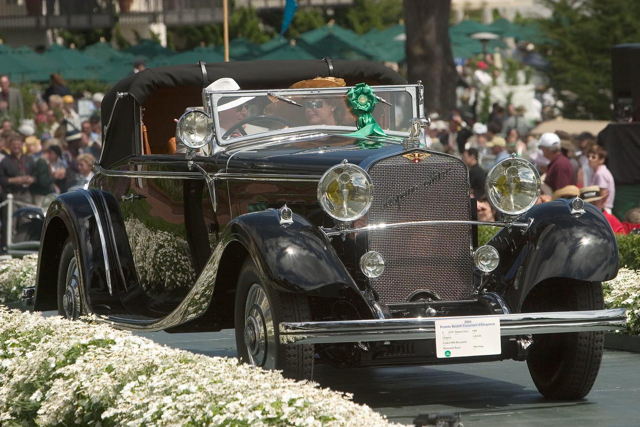 1926 Hispano-Suiza H6B Chapron Cabriolet. 1st Hispano-Suiza.  Frank and Milli Ricciardelli.