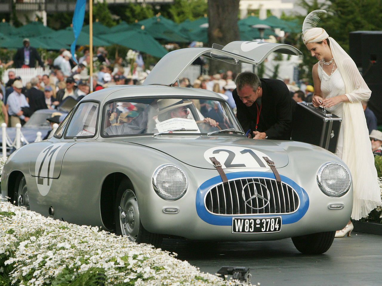 1952 Mercedes-Benz Type 194 Coupe.  Briggs Cunningham Trophy.