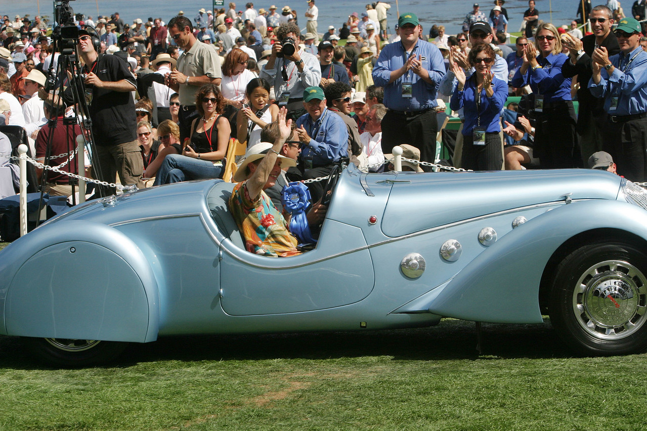 1938 Peugeot Darl'mat 402 Pourtout Roadster .