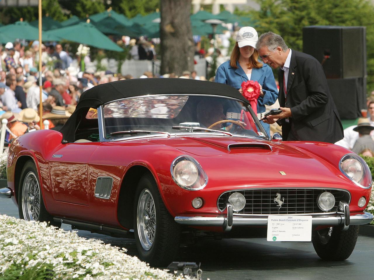 1960 Ferrari 250 GT LWB Scaglietti Spyder California. 2nd Ferrari Open.  Jeffrey D. Mamorsky.