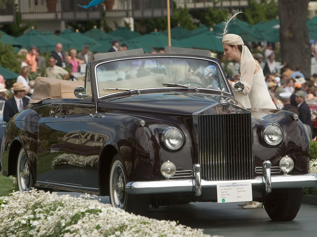 1959 Rolls-Royce Silver Cloud I James Young Drophead Coupe.
