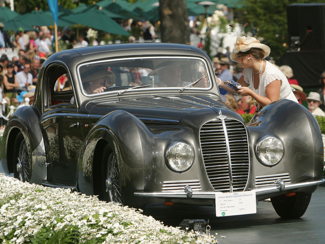 1946 Delahaye 145 Chapron Coupé.