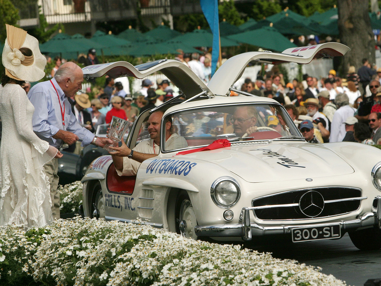 1952 Mercedes-Benz Type 194 Coupe.  Briggs Cunningham Trophy. Bruce and Jolene McCaw.