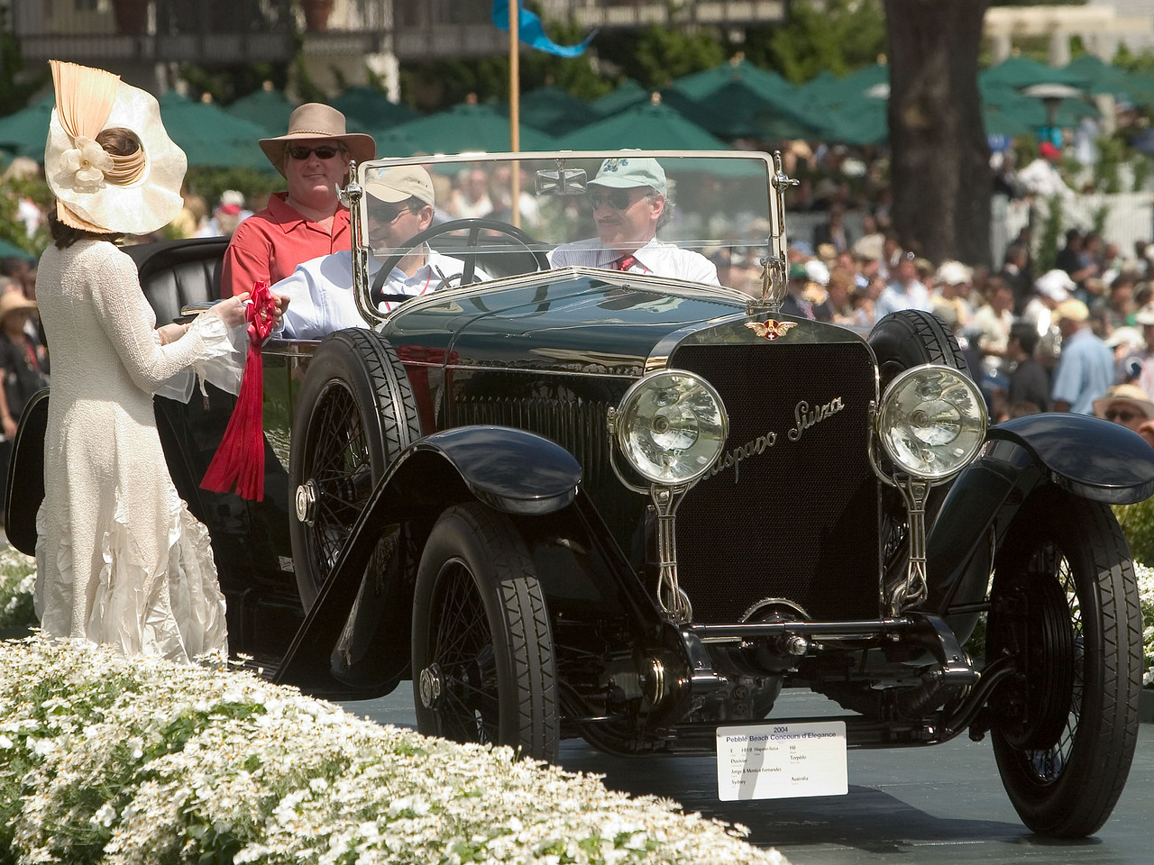 1919 Hispano-Suiza H6 Duvivier Torpédo.