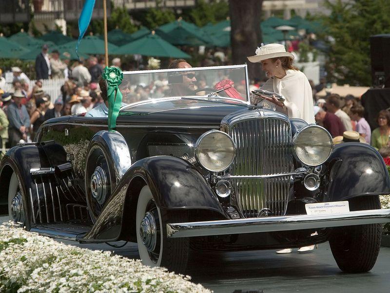 1937 Duesenberg J Bohman & Schwartz Convertible Coupe. 2nd Duesenberg.   Harry Yeaggy.