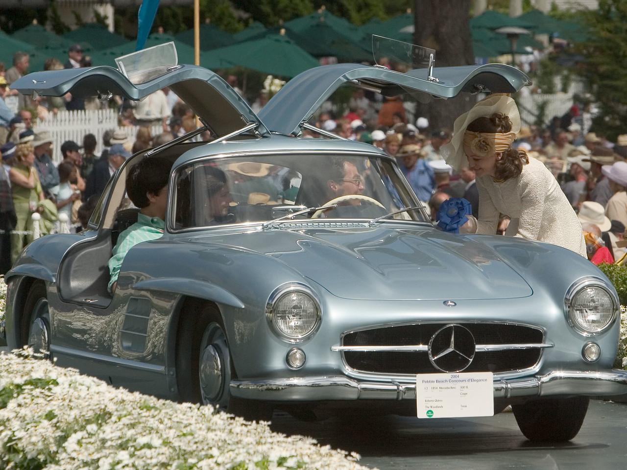 1954 Mercedes-Benz 300 SL Coupe. 1st Mercedes 300 SL.  Roberto Quiroz.