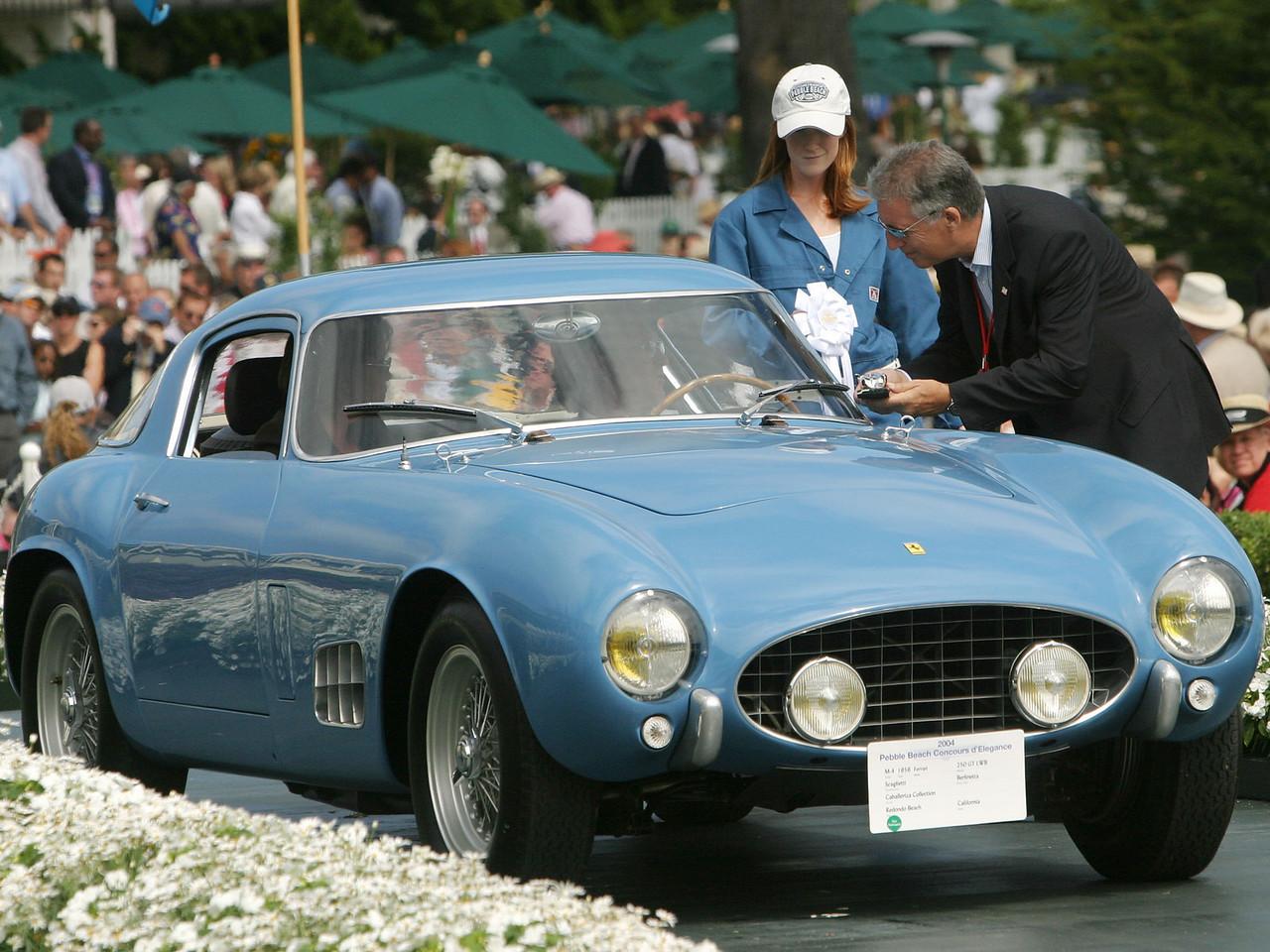 1956 Ferrari 250 GT LWB Scaglietti Berlinetta. 3rd Ferrari Major Race Winners.  Caballeriza Collection.