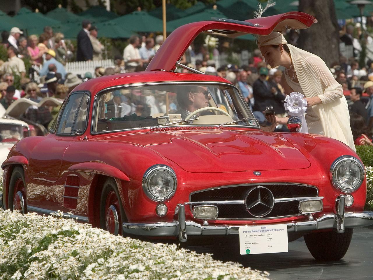 1957 Mercedes-Benz 300 SL Coupe. 3rd Mercedes 300 SL.  Kenneth Wickham.
