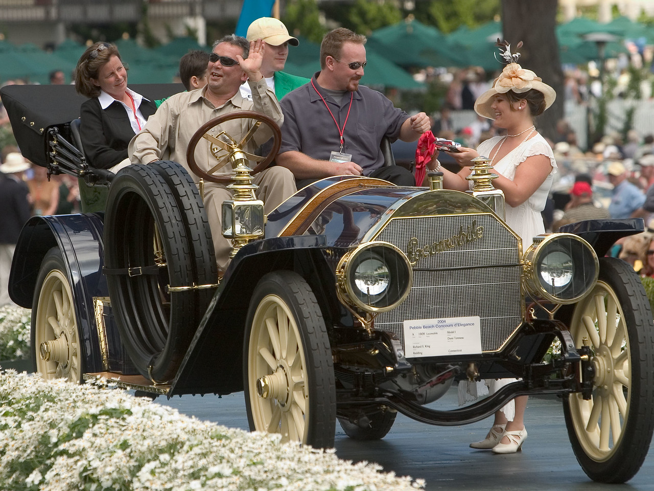 1909 Locomobile Model I Demi Tonneau.  2nd, pre-1915.  Richard King.