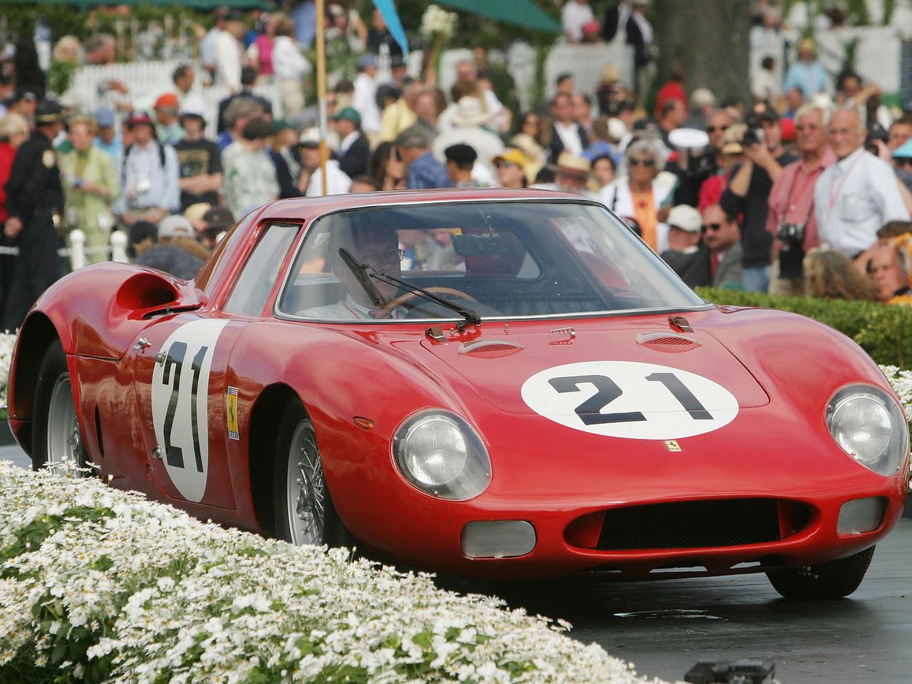 1967 Ferrari 330 P4 Drogo Spyder.  Luigi Chinetti Trophy.