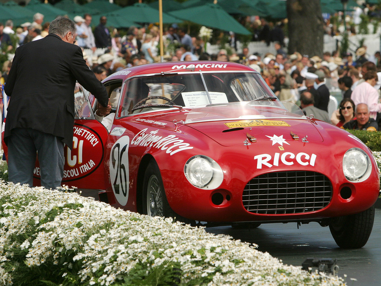 1953 Ferrari 340/375MM Pinin Farina Berlinetta.