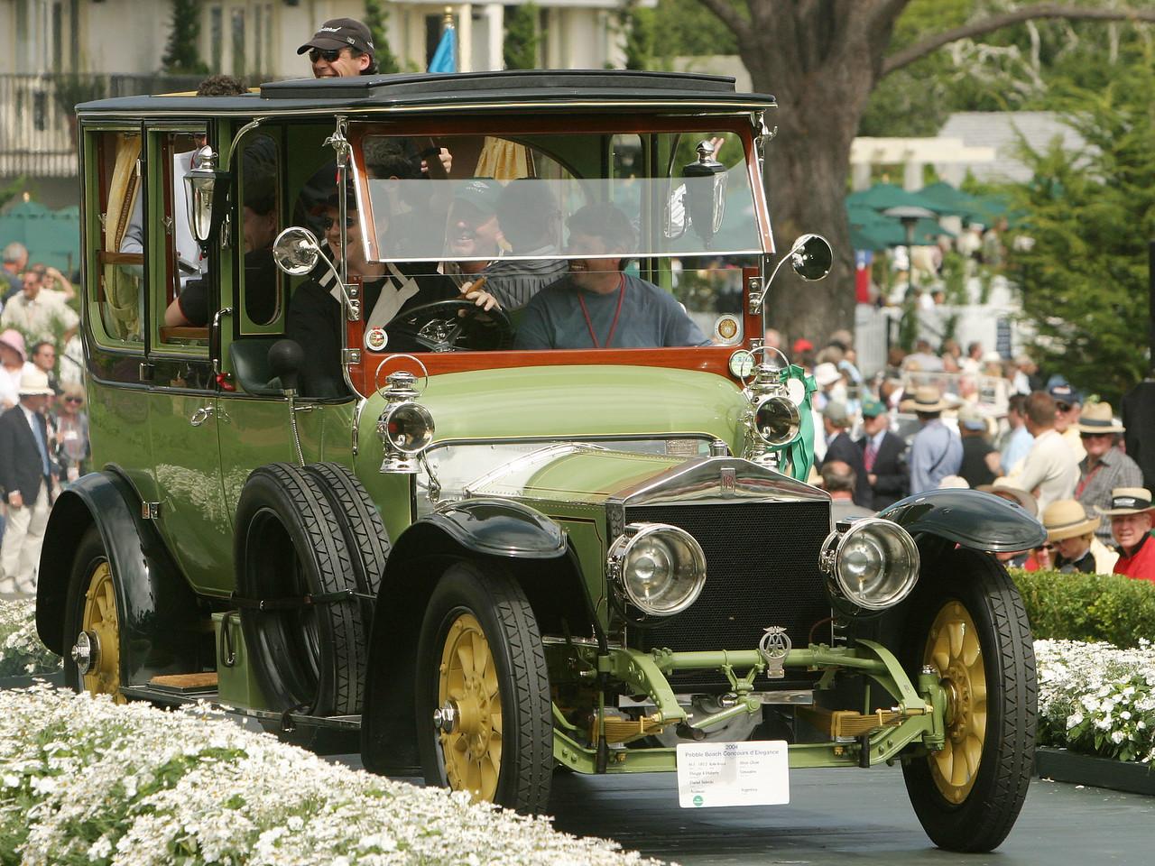 1912 Rolls-Royce Silver Ghost Thrupp & Maberly Limousine.  Co-Chairman's Trophy.  Daniel Sielecki.