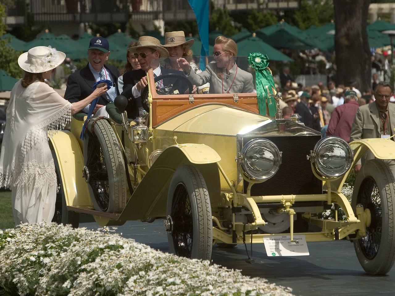 1912 Rolls-Royce Silver Ghost Labourdette London to Edinburgh Torpédo. 1st RR Silver Ghost 1907-15.  Robert Lee