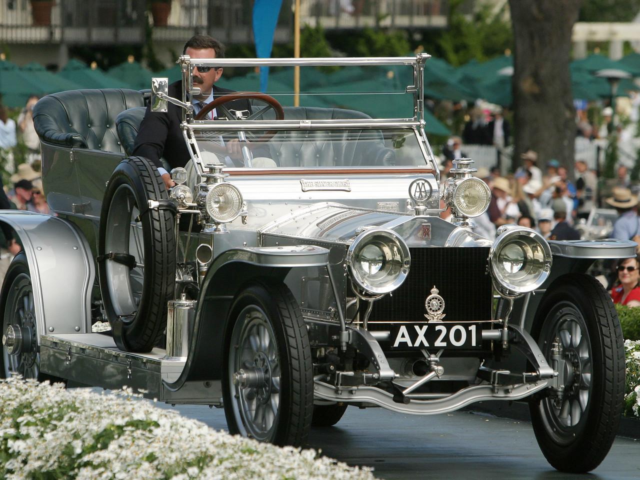 1914 Rolls-Royce Silver Ghost Barker Landaulette. FIVA Award.  Richard L. Scott.