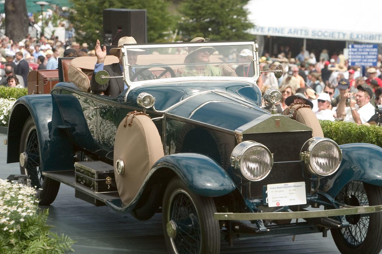1930 Rolls Royce Silver Ghost.