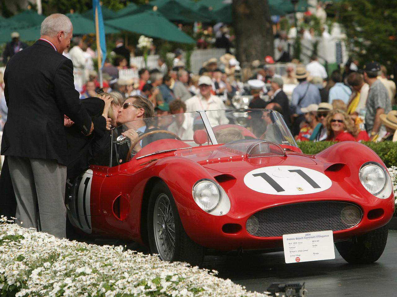 1959 Ferrari TR59/60 Fantuzzi Spyder.  Pebble Beach Cup. William E. (Chip) Connor.