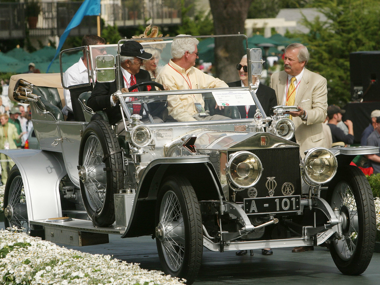 1909 Rolls-Royce Silver Ghost Barker Roi-des-Belges.  Charles A. Chayne Trophy.  Richard J. Solove.