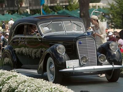 1937 Lincoln K Derham Sport Sedan. 1st American 1925-41 Clsed.  Edmund Burchman.
